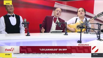 Celebra Perú: Los Juanelos cantaron al Perú en RPP Noticias