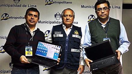 Usuarios del Metropolitano recuperaron dos laptops que olvidaron en bus