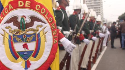 Estas delegaciones extranjeras participaron en la Gran Parada Militar