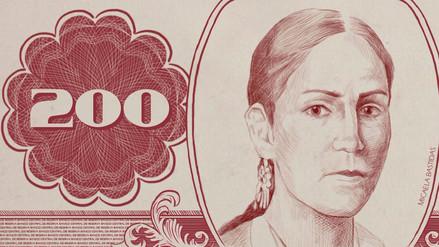 Así lucen los billetes con los rostros de las peruanas y peruanos más votados