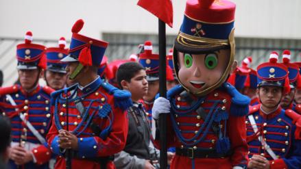 Los momentos curiosos que dejó la Gran Parada y Desfile Cívico Militar