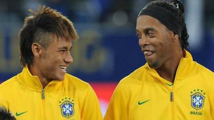 Ronaldinho aconsejó a Neymar:
