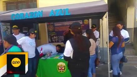"""Lanzan campaña """"Corazón Azul"""" contra la trata de personas"""