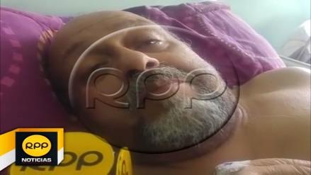 Juan Carlos Ferrando permanece internado en hospital de Trujillo