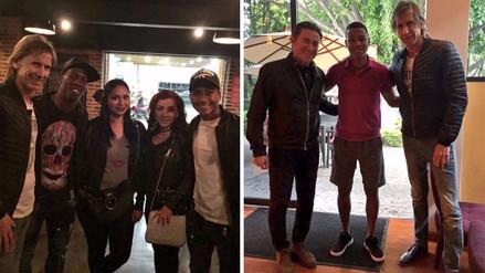 Ricardo Gareca se reunió con Andy Polo, Luis Advíncula y Pedro Aquino