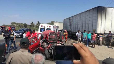 Cinco muertos dejó accidente de tránsito en Pacasmayo