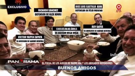 Exfiscal del caso Madre Mía apareció en una foto con Eduardo Roy Gates