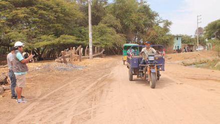 Ejecución de carretera beneficiará a cientos de pobladores de Reque