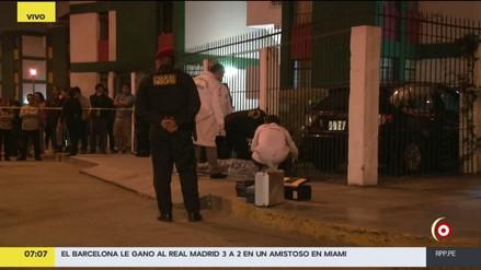 Joven fue baleado al intentar evitar el robo de celular en San Luis