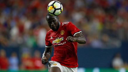 Romelu Lukaku anotó de cabeza en triunfo de Manchester United