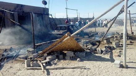 Disputa de terrenos en Majes deja cinco heridos
