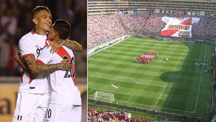 El Estadio Monumental espera por la Selección Peruana