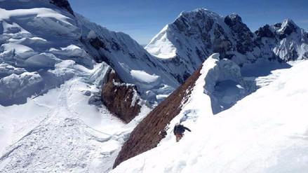 Dos turistas chilenos y un ruso desaparecieron en nevado de Huaylas