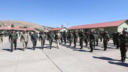 Ministro de Defensa presenta grupo contra el narcoterrorismo en Jauja