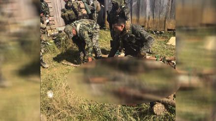 Nuevo enfrentamiento en el Vraem dejó un muerto y tres heridos