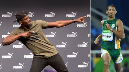 Usain Bolt alista el adiós y un sudafricano podría convertirse en su sucesor