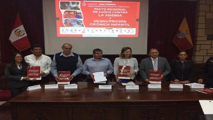 Autoridades se unen para luchar contra la anemia y desnutrición crónica infantil