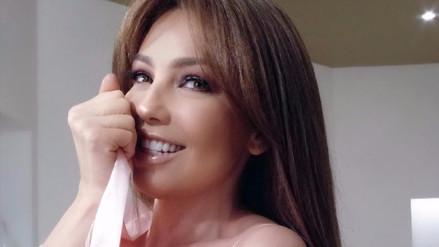 YouTube | Thalía revela el secreto mejor guardado de su cintura