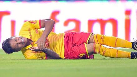 Raúl Ruidíaz mostró cómo se recupera de su lesión en la pierna izquierda