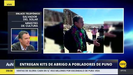 Del Solar confirmó que 13 personas murieron por las heladas en Puno