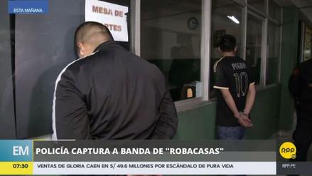 Capturan a tres delincuentes que asaltaron una casa en Villa El Salvador