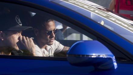 Neymar pasó reconocimiento médico con el PSG en Portugal