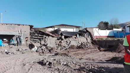 Se produce derrumbe en hospital Domingo Olavegoya de Jauja