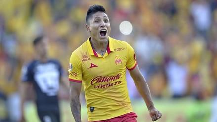 Raúl Ruidíaz se recuperó de su lesión y pronto volverá a jugar con el Morelia