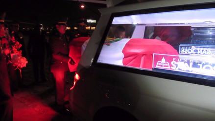 Llegan a Arequipa los restos de soldado abatido en el Vraem