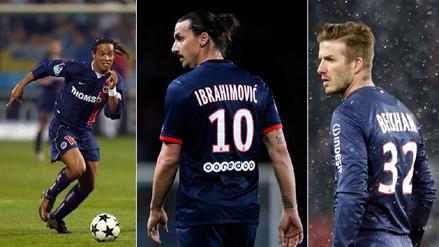 ¿Se suma Neymar? Diez figuras que también jugaron en el PSG