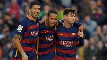 Los números que dejó el tridente Messi, Suárez y Neymar en Barcelona