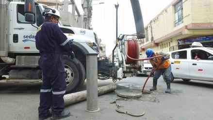 Realizan labores tras colapso de desagües en mercado Central de Chiclayo