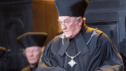 Murió Robert Hardy, actor de la saga Harry Potter
