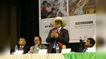 Gobernador regional de Cajamarca rendirá cuentas en audiencia pública