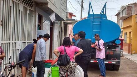 Familias de Ferreñafe advierten salir a las calles ante falta de agua
