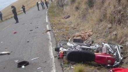 Un muerto dejó choque frontal en la Carretera Belaúnde Terry