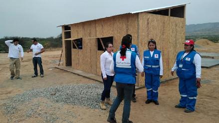 Con apoyo extranjero instalarán más de 50 viviendas para damnificados de Pítipo