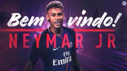 ¡Oficial! Neymar es nuevo jugador del PSG de Francia