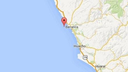 Sismo de 4.8 grados de magnitud se registró en Barranca