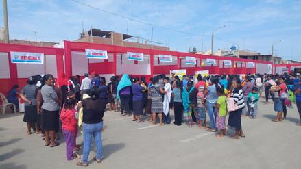 Tres mil pobladores se beneficiaron con campaña cívica en Pátapo