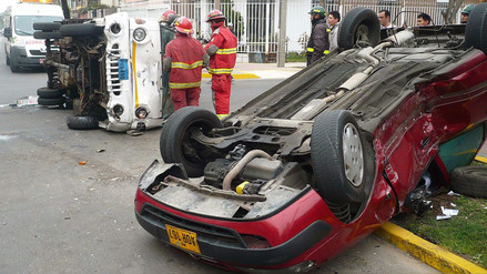 Ocho peruanos mueren cada día en accidentes de tránsito