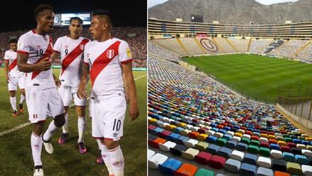 ¡Oficial! La Selección Peruana jugará ante Bolivia en el Estadio Monumental