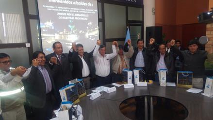 Alcaldes se reúnen para pedir al gobierno mayor presupuesto