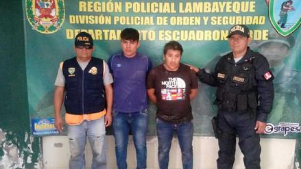 Chiclayo: Grupo Terna captura a ladrones que asaltaron a profesora
