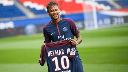 Así se vivió la presentación oficial de Neymar en el PSG