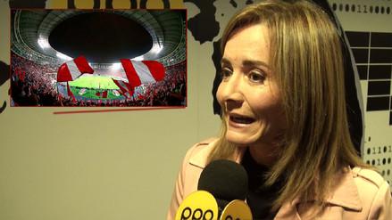 Marilú Martens sobre el Estadio Nacional: