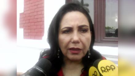 Gloria Montenegro criticó remodelación de la Plaza de Armas de Trujillo