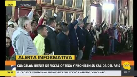 La Asamblea Constituyente remueve a la fiscal general de Venezuela
