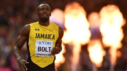 Usain Bolt se despide del atletismo con una derrota en los 100 metros