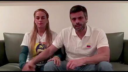 Leopoldo López fue devuelto a su casa bajo arresto domiciliario